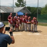 2014 Baseball Tournament Medal Winners